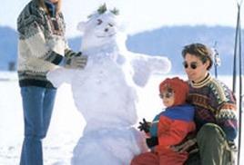 Зимний лагерь. Зимние виды спорта